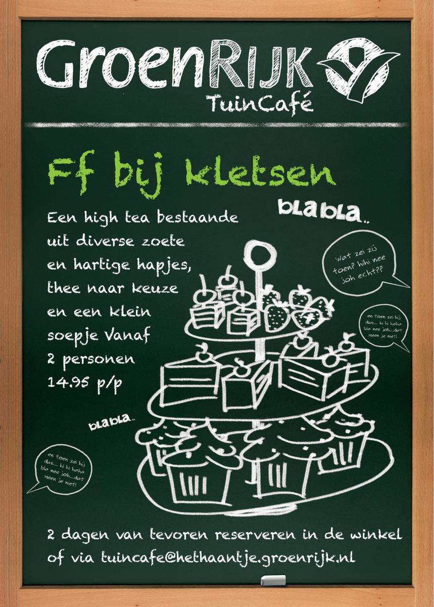 Luxe high tea nabij Den Haag
